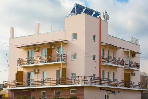 Гулливер, гостиница фасад