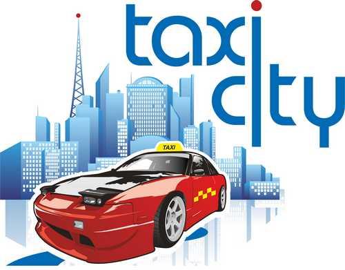 TAXI CITY Люкс логотип