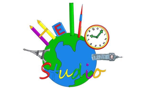 HELLO, студия иностранных языков логотип
